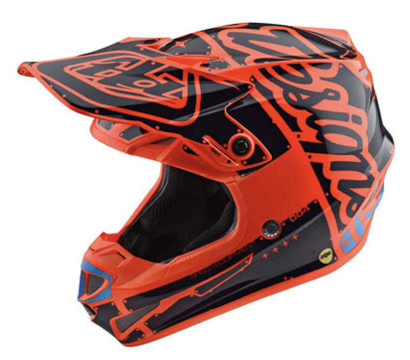 Troy Lee Youth SE4 Factory MIPS Helmet