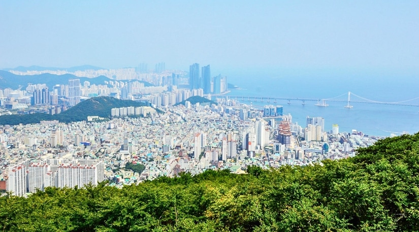 View of Busan from Geumnyeonsan