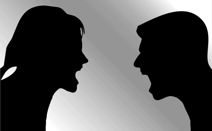 Choleriker in einer Beziehung