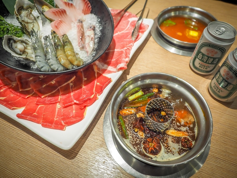 Spicy hot pot, the best thing to eat in winter in Taipei