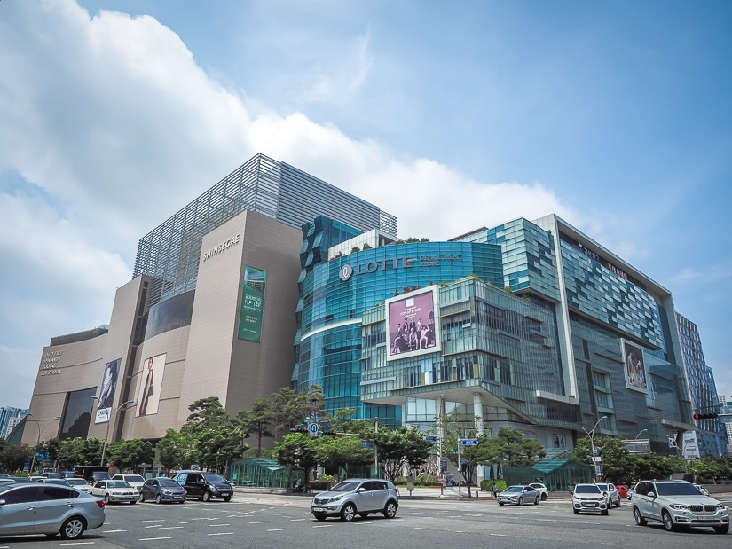 Shinsegae Centum City, the biggest shopping mall in the world
