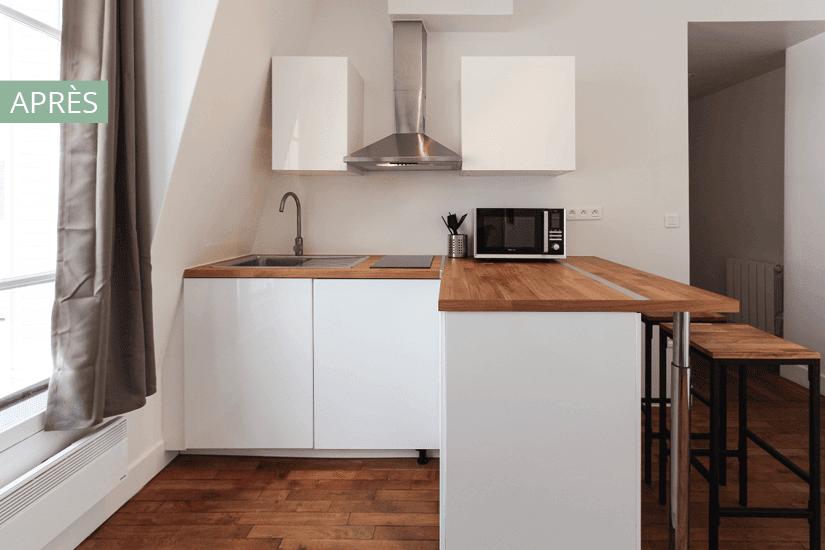 cuisine style scandinave pour investissement locatif
