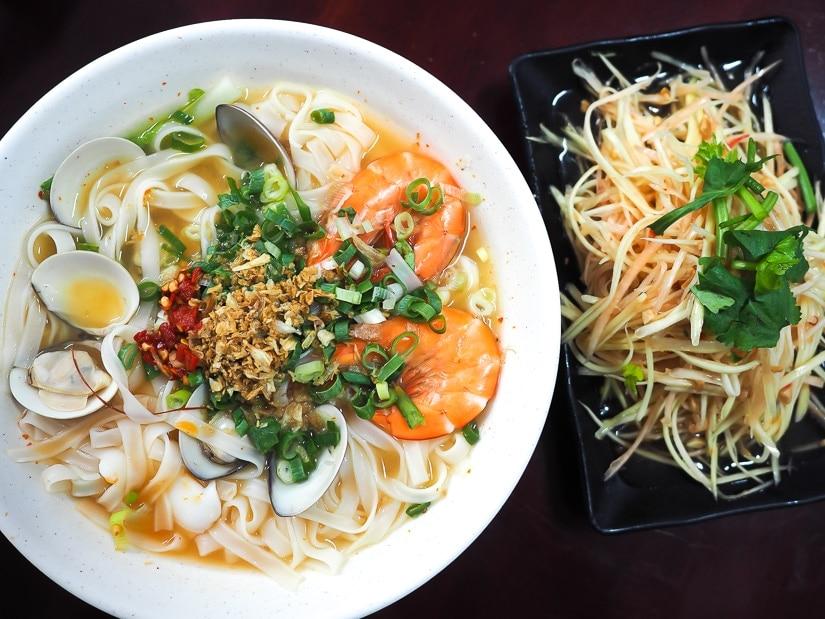 Vietnamese food, Wanli Beach, Taiwan