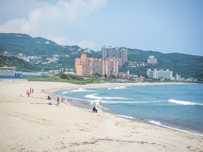Heading to the beach is one of the best things to do in Taiwan in May