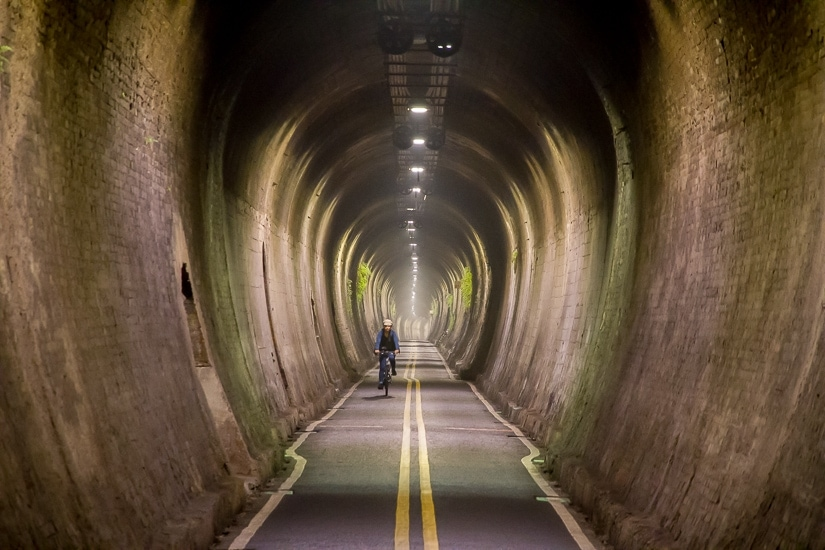 #9 Tunnel on the Houfeng Bikeway, on the Houfeng Bikeway