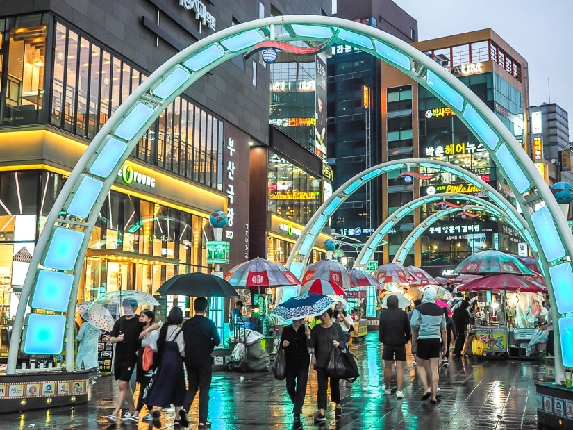 BIFF Square, of the best places to visit in Busan