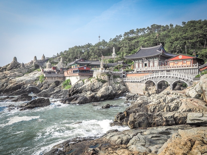 Wondering what to see in Busan in five days? Don't miss Haedong Yonggungsa Temple, the temple by the sea in Busan