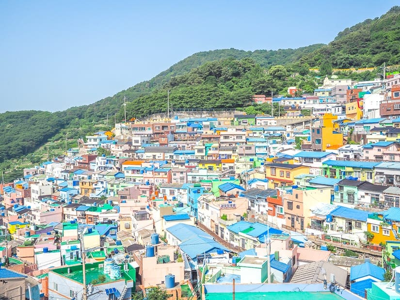 One of the best views of Gamcheon Culture Village