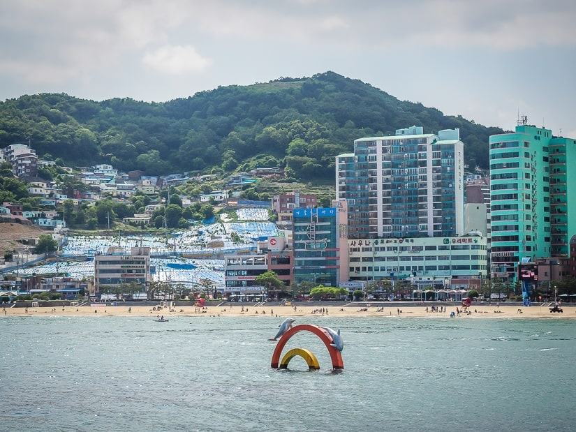 Songdo Beach, yet another of the most popular beaches in Busan