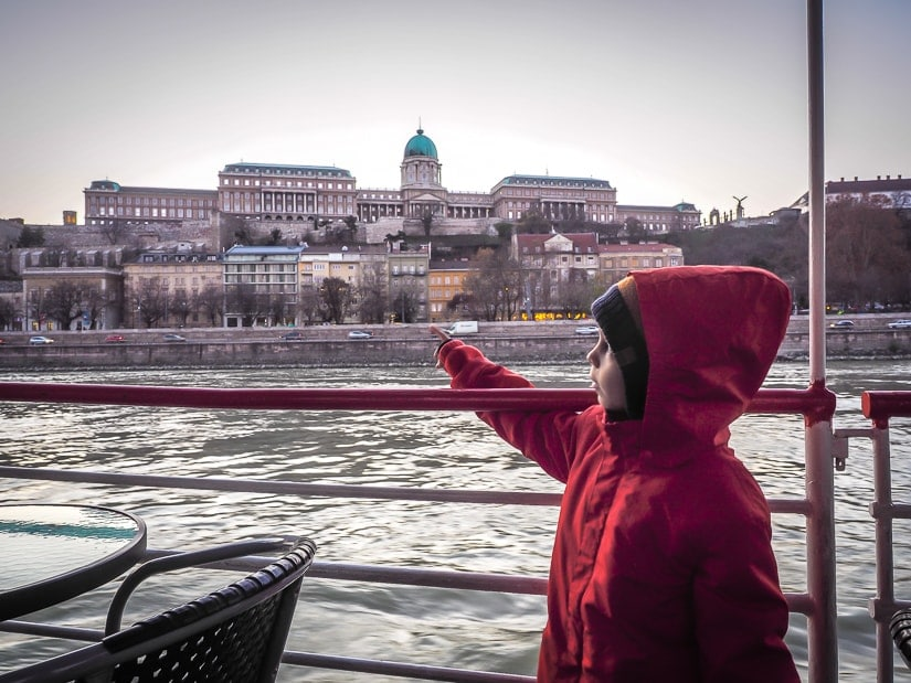 Doing a Danube river cruise with kids in Budapest