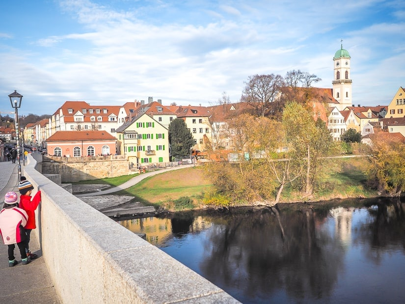 Old Stone Bridge, one of the best places to visit with kids in Regensberg, Bavaria