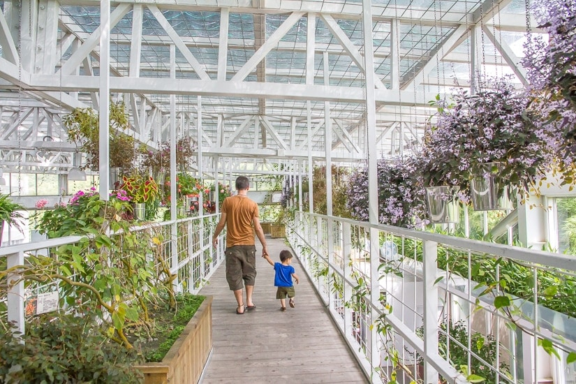 Artemis garden, a greenhouse in Yilan County, Taiwan