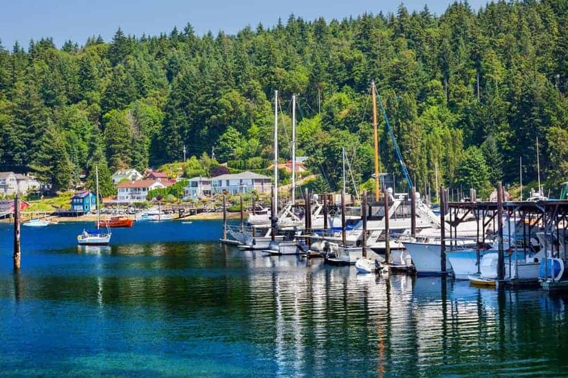 gig harbor best place to retire in washington