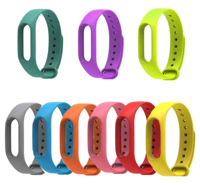 2018 Colorful Strap Wristband Xiaomi Mi Band 2 Bracelet Strap smartwatch replica AliExpress apple watch clone Mi Band Strap 1 Miband 2 Replacement Smart Band Accessories for Mi Band 2 Silicone