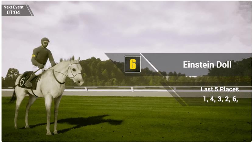 Virtual-horse-racing