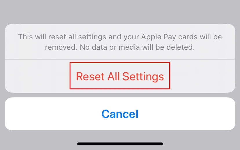 iphone cellular data not working reset all settings