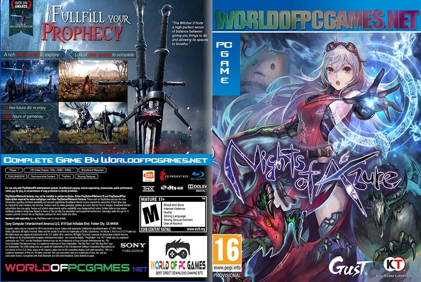 Nights Of Azure Free Download PC Game By Worldofpcgames