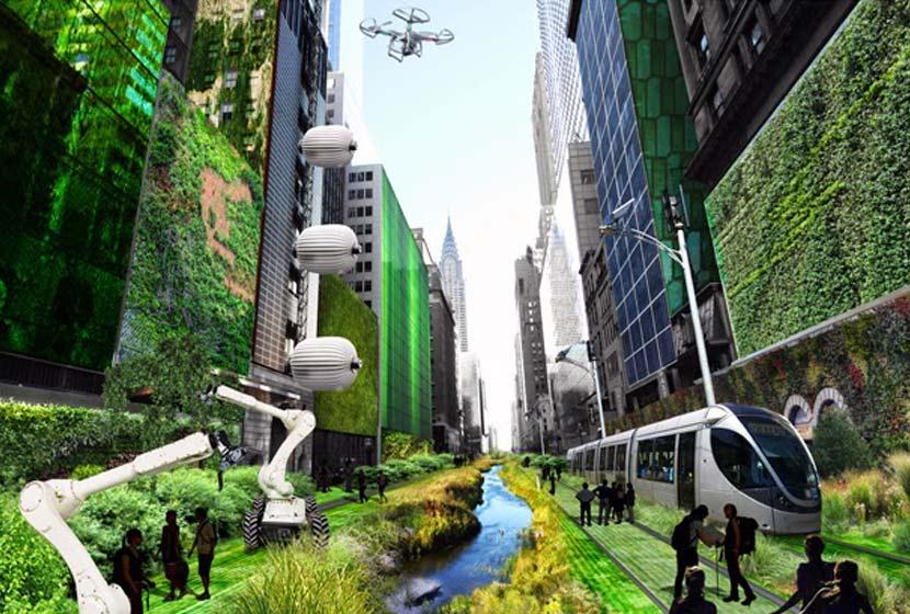ville de demain architecture
