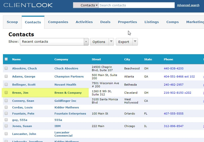 Merge Duplicate Records In ClientLook_7