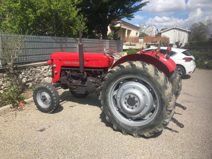 vente aux enchères lectoure tracteur