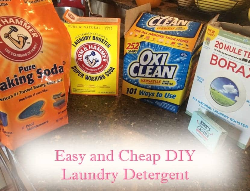 Laundry Detergent Ingredients