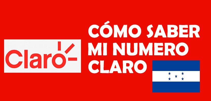 Cómo saber mi número claro Honduras