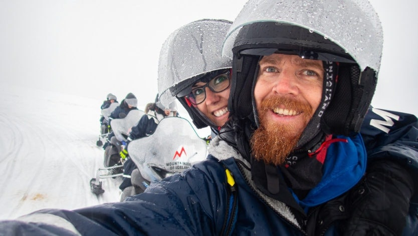 mountaineers of iceland snowmobile tour