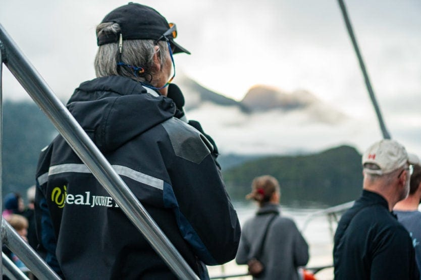 real journeys doubtful sound nature guide