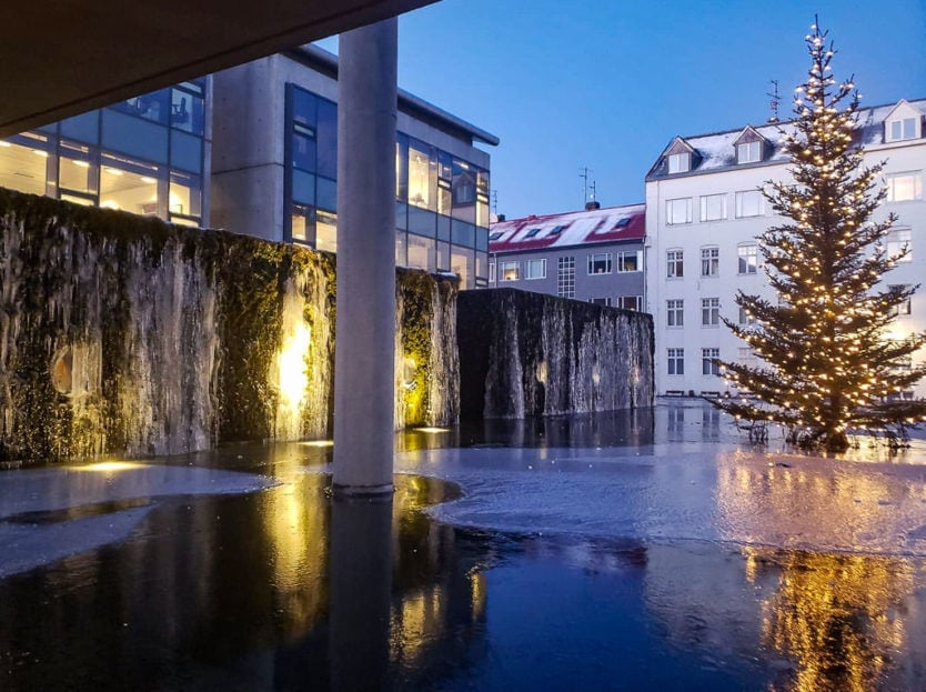 reykjavik christmas city hall