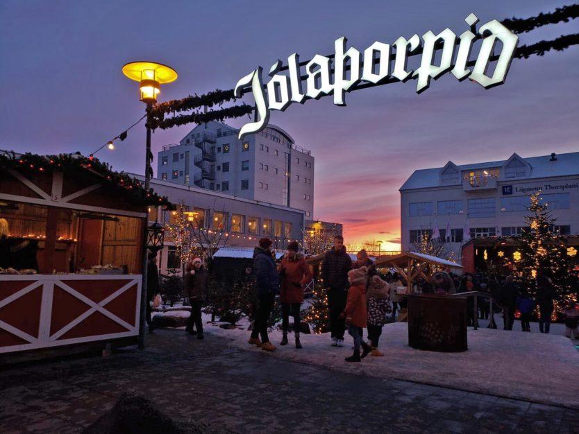 reykjavik christmas market