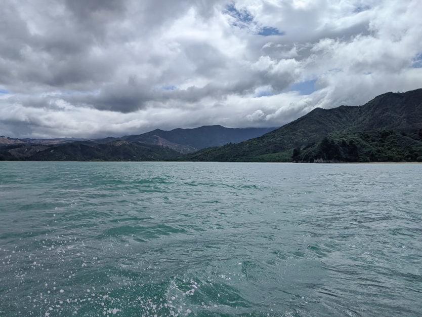 beautiful day for kayaking in abel tasman national park