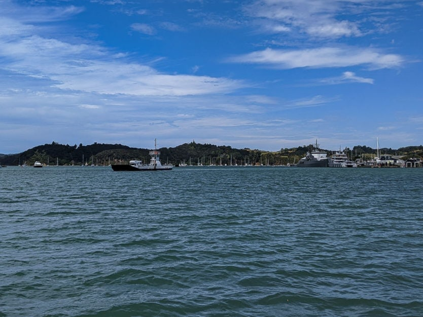 car ferry from russell area to paihia
