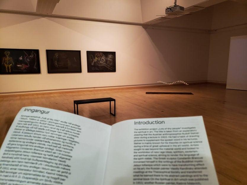 abstract art exhibit Gerðarsafn - Kopavagur Art Museum