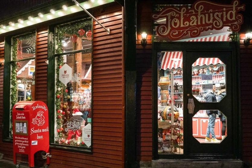 reykjavik christmas markets shop