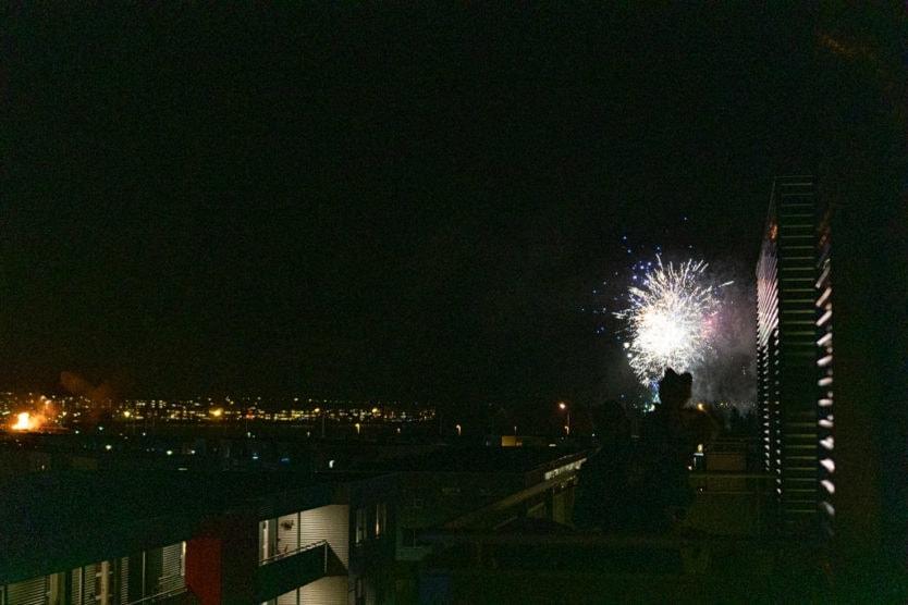local fireworks near reykjavik