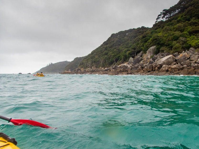 kayaking in Brereton Cove