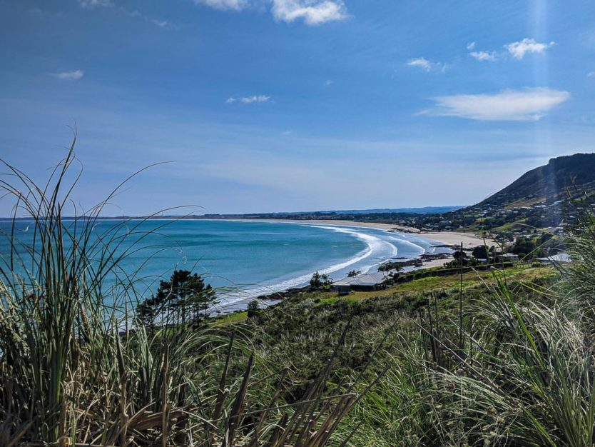 90 mile beach overlook in northland new zealand