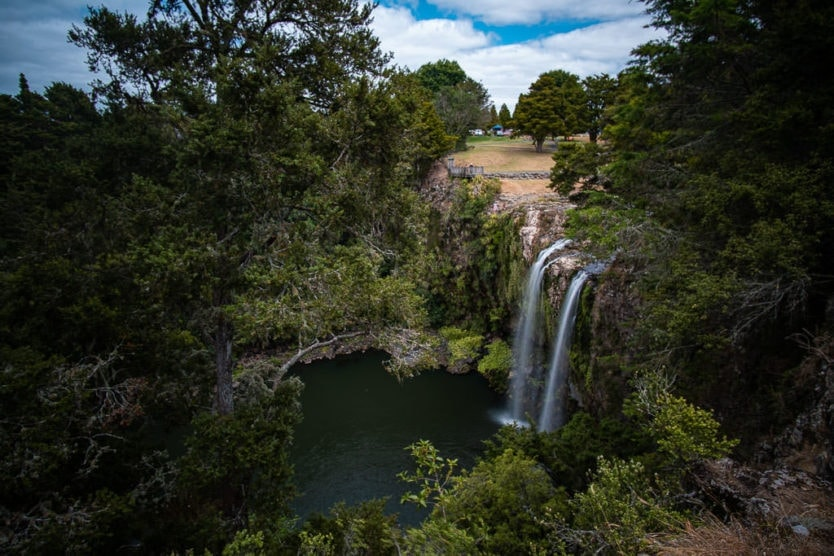 whangarei falls new zealand