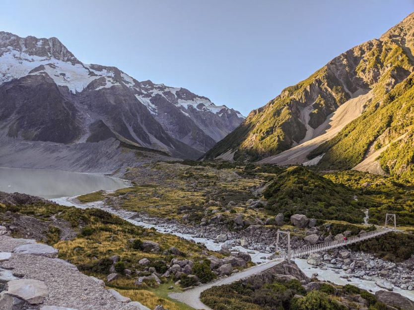 mount cook new zealand trail