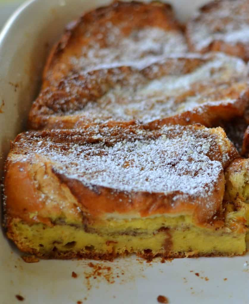 Easy Overnight French Toast Casserole