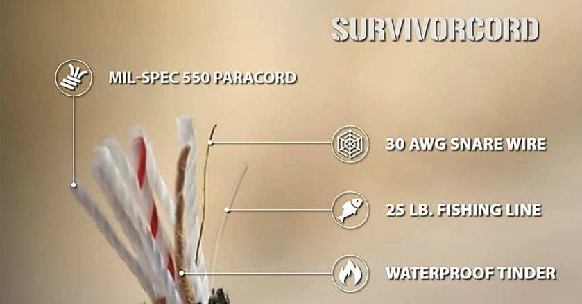 620 LB SurvivorCord characteristic