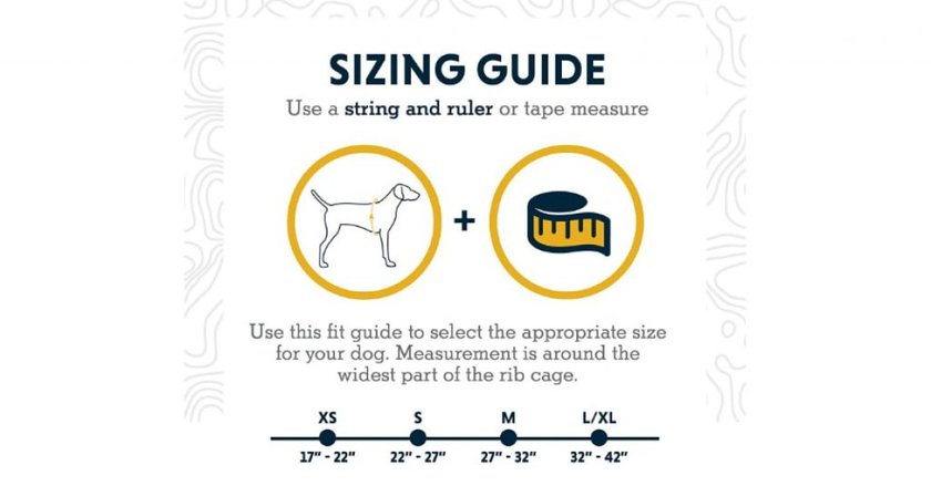 RUFFWEAR - Approach Dog sizes