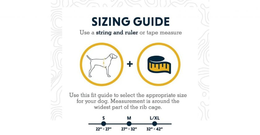 RUFFWEAR - Sizes guide