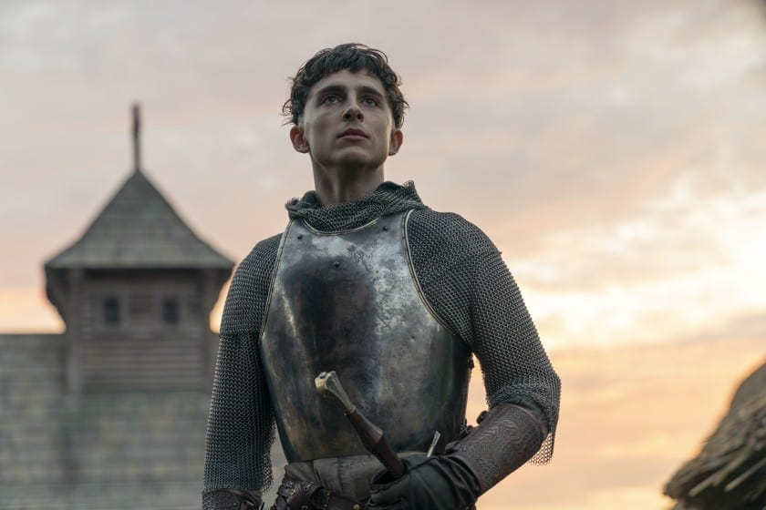 Prince Hal in Netflix's The King