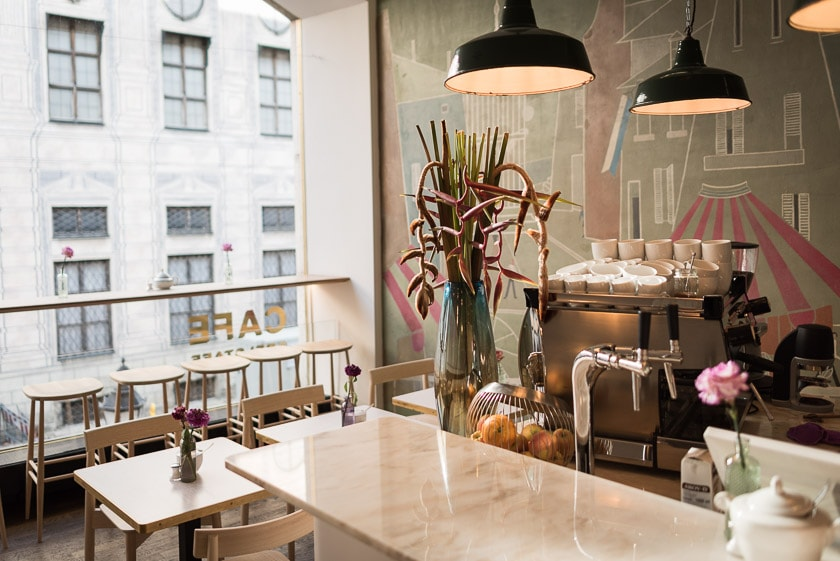 Cafe Belstaff in der Residenzstraße | Foto: ISARBLOG