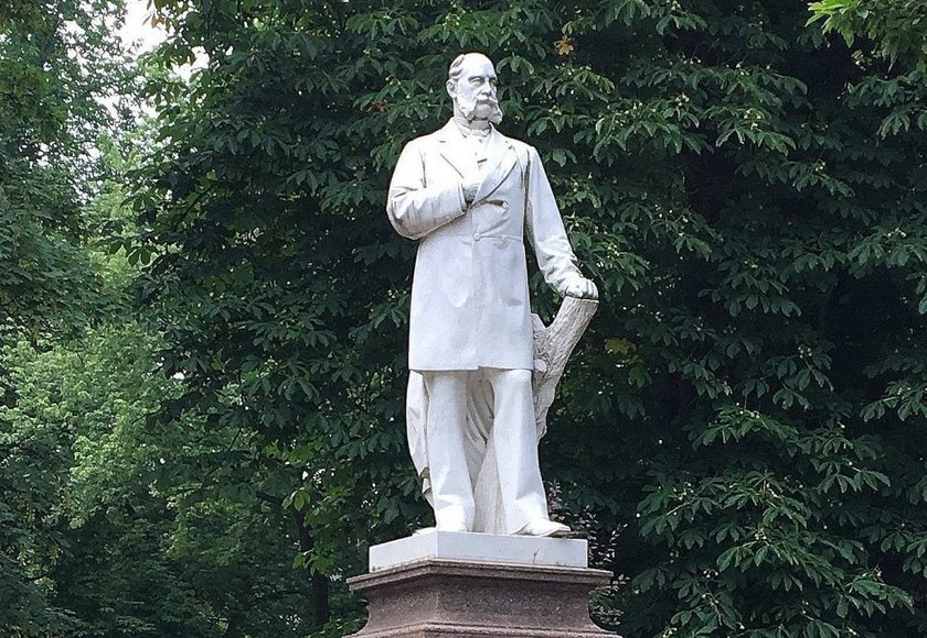 Kaiser Wilhelm - ganz privat im Kurpark Bad Ems