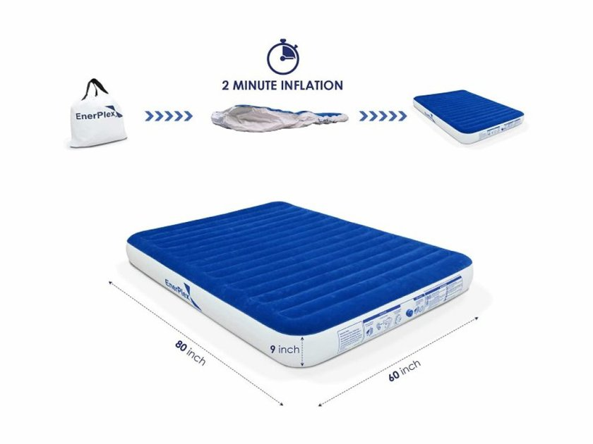 EnerPlex -Luxury-Queen-Size-Airbed-Bed
