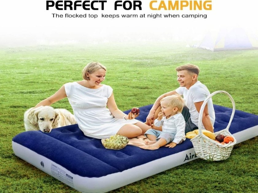 Inflatable-Mattress-with--Electric-Pump