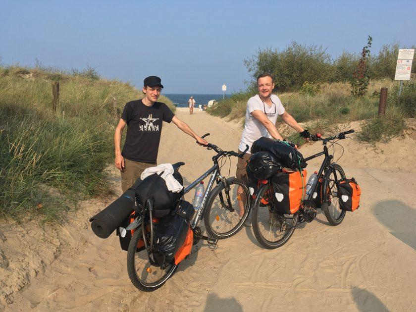 Fahrradtour an die Ostsee