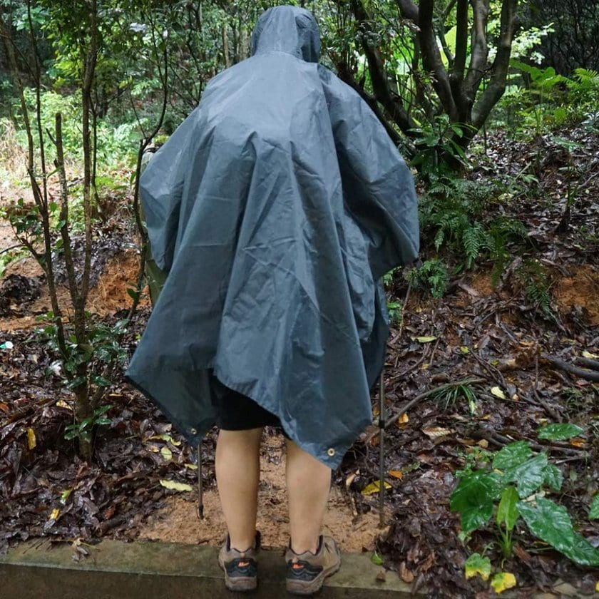 Anyoo waterproof rain poncho - photo 4